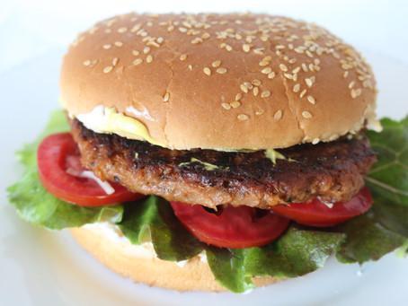 Awesome Black Bean Burger!