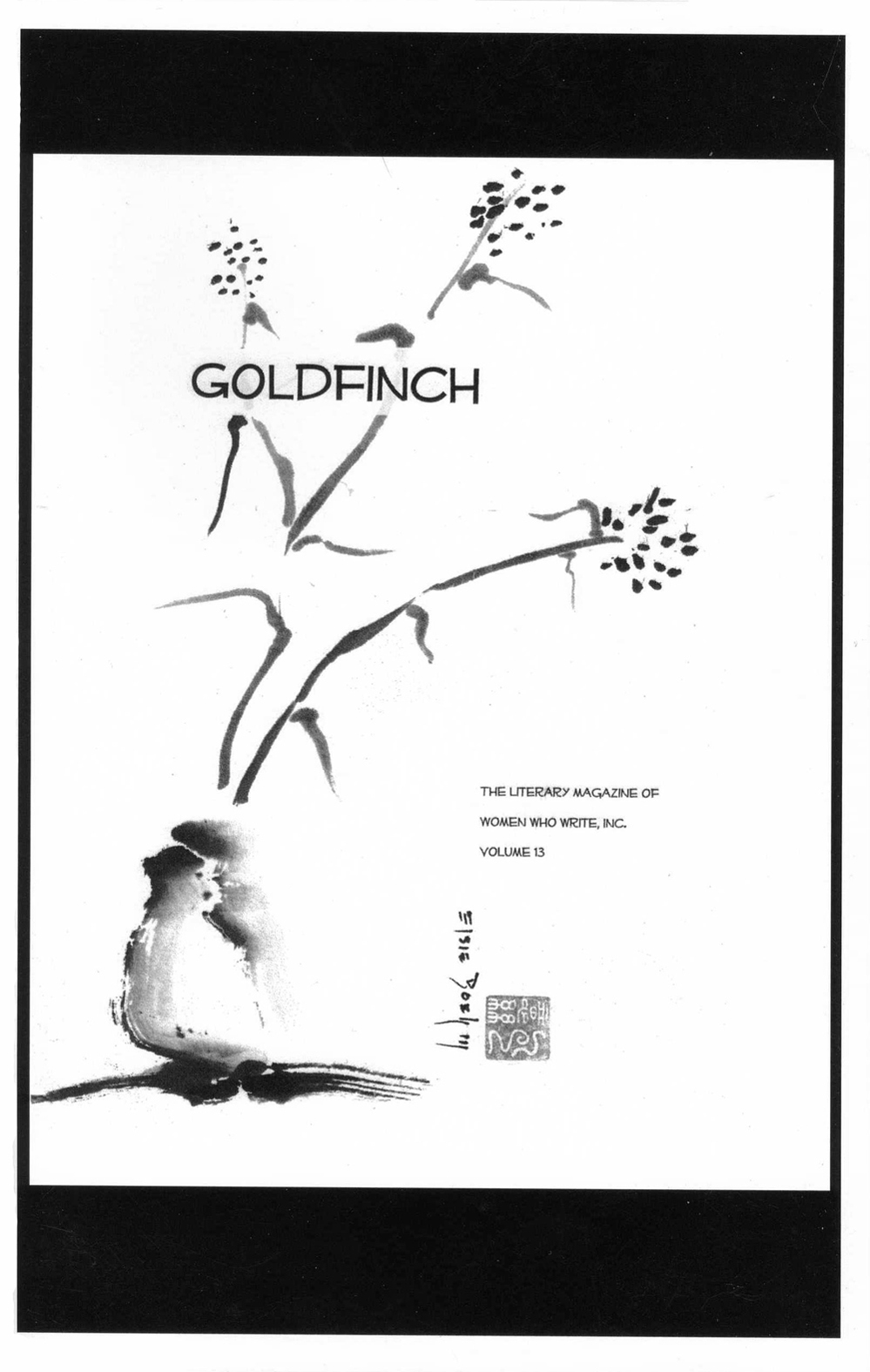 Goldfinch, Vol. 13, 2010