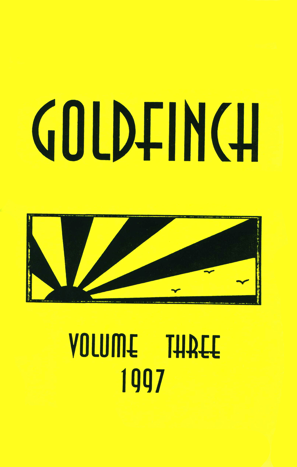 Goldfinch, Vol. 3, 1997