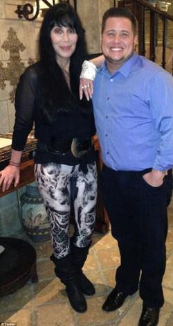 Cher and son, Chaz Bono