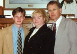 Matthew, Judy and Dennis Shepard