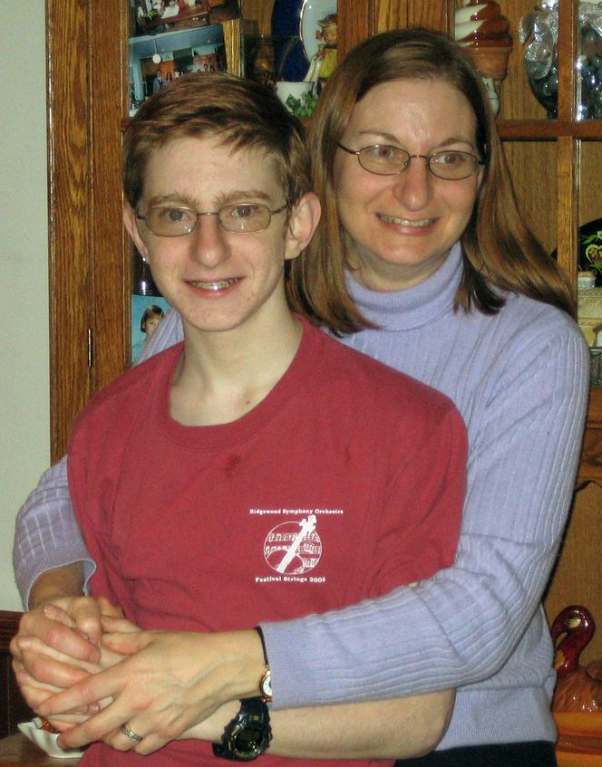 Tyler Clementi with mom, Jane