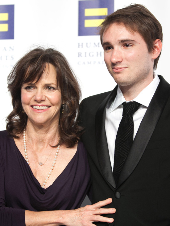 Sally Field and son, Sam