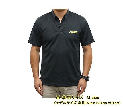 FIVEX ドライボタンダウンポロシャツ Mサイズ
