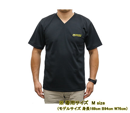 FIVEX ドライVネックTシャツ Lサイズ