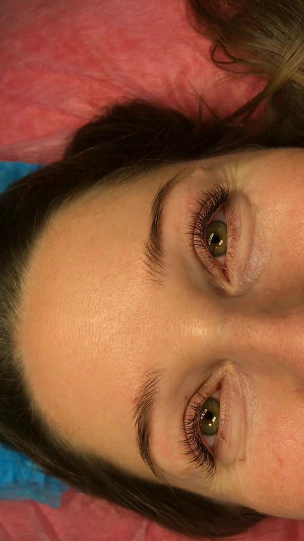 Естественное наращивание @todeska_brows