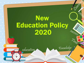 NEW EDUCATION POLICY 2020-  WHAT ARE THE IMPORTANT CHANGES AND CHALLENGES?