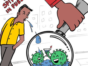 IS SPITTING IN PUBLIC PLACES AN OFFENCE?