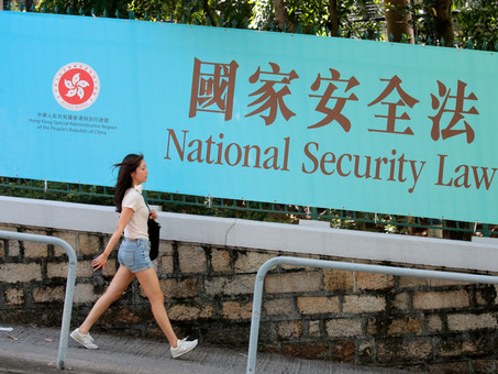 NATIONAL SECURITY LAW AND THE END OF HONG KONG AUTONOMY