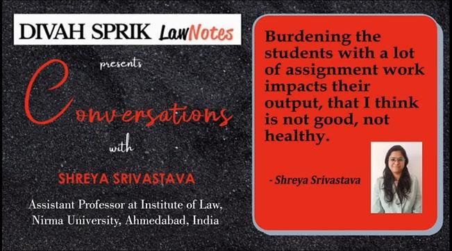 Conversations with Shreya Srivastava