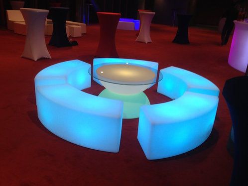 Banquette lumineuse