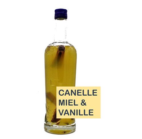 Rhum arrangé Banane/Vanille/Canelle