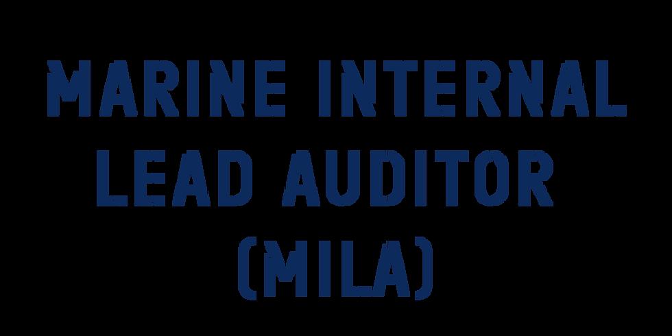 Marine Internal Lead Auditor (MILA)