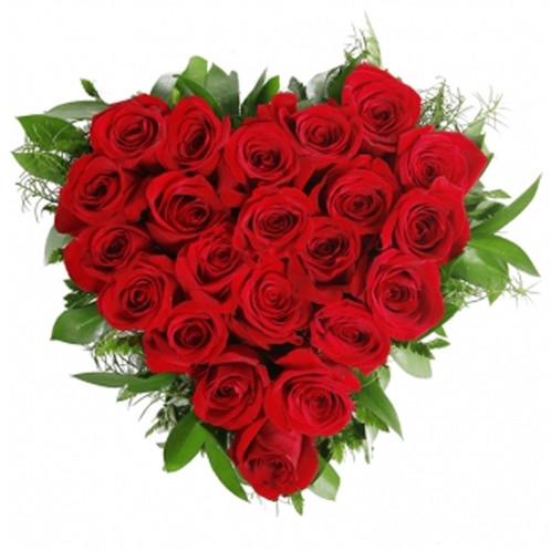 Corazon 24 Rosas