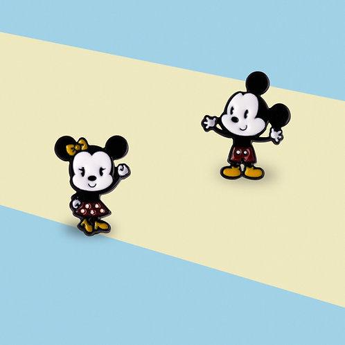 MOOII Ear-Stud Baby Mickey and Minnie