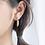 Thumbnail: Gold Feather Dangle Earring - Mooii