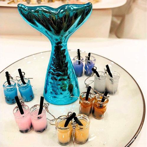 Bubble Tea Earrings - MOOII