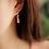 Thumbnail: Multi-Colour Water Drop Earring