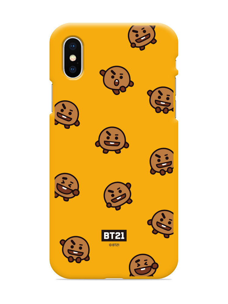 new products 1f7a8 84f78 BTS BT21 Official Figure Phone Case Cover Color Jelly Case LINE FRIENDS