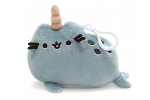 Pusheen Narwhal Backpack Clip