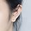 Thumbnail: Golden Butterfly Sterling Silver Ear Studs - MOOII