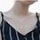 Thumbnail: Hollow Moon & Star Tassel Necklace