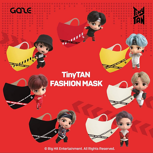 GAZE TinyTAN inspired by BTS Fashion face mask [Official Licensed merch]