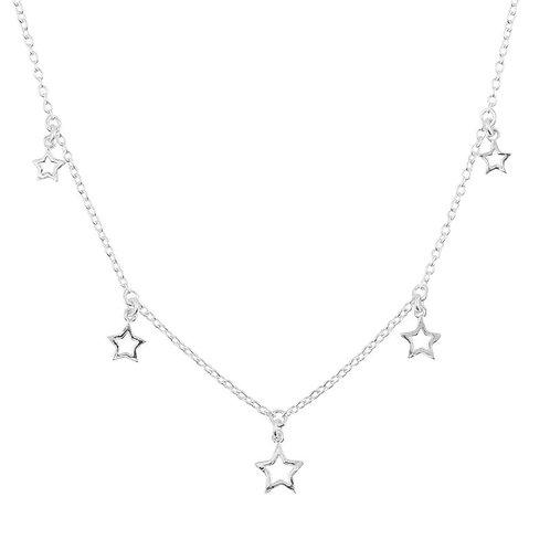 Star Bright Sterling Silver Choker