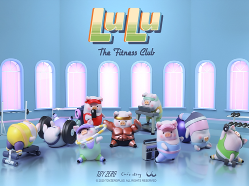 Lulu the piggy - Fitness Club Limited Set