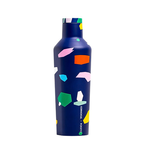 Corkcicle Poketo Canteen 475ml - Confetti Insulated Stainless Steel Bottle