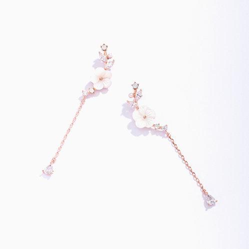 Sakura Branch Drop Earring