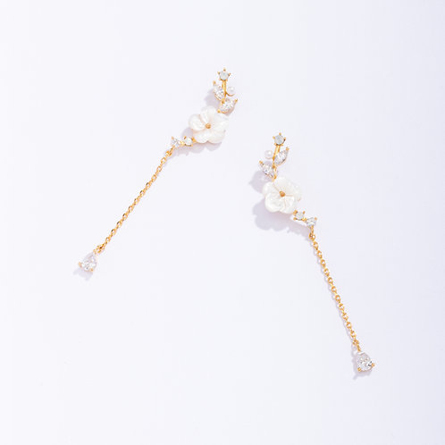 Sakura Branch Drop Earring
