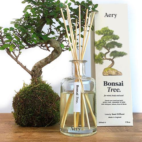 Aery Living Botanical 200ml Reed Diffuser Bonsai Tree