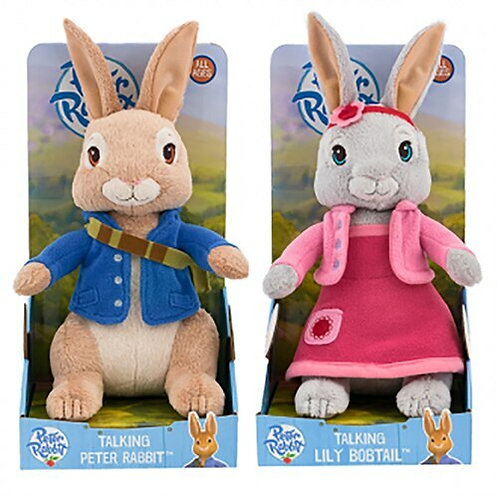 Talking Peter And Lily Plush