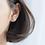 Thumbnail: Dainty Open Heart Sterling Silver Ear Studs - Mooii