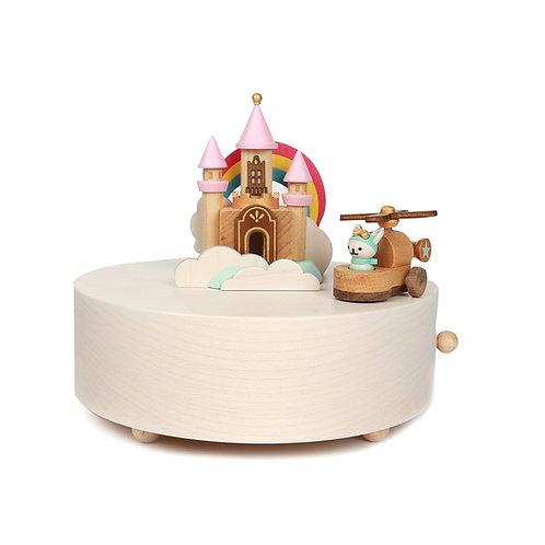 Wooderful Life Happy Cloud Castle Music Box