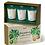 Thumbnail: Aery Living: Botanical Votive 3 Candle Gift Set Botanical Gift Set