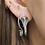 Thumbnail: Cobra Sterling Silver Hoop Earrings