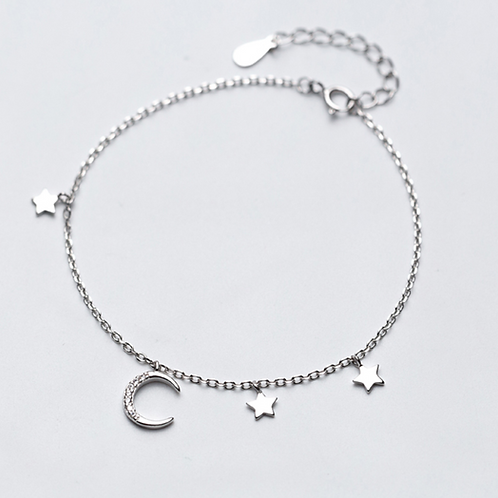 Multi Stars and Moon Bracelet - MOOII