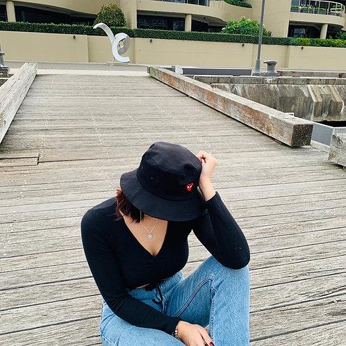 Korean Fashion Heart Fisherman Hats Premium