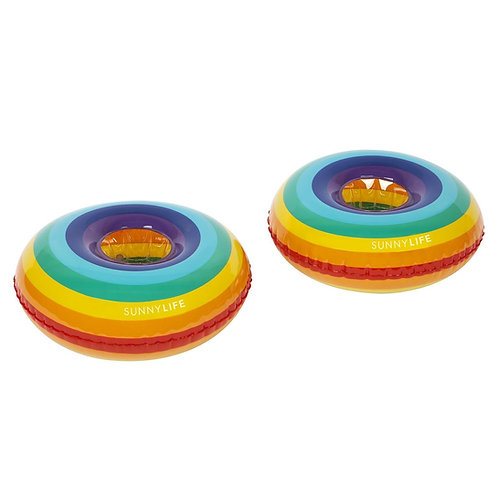Rainbow Inflatable Drink Holders