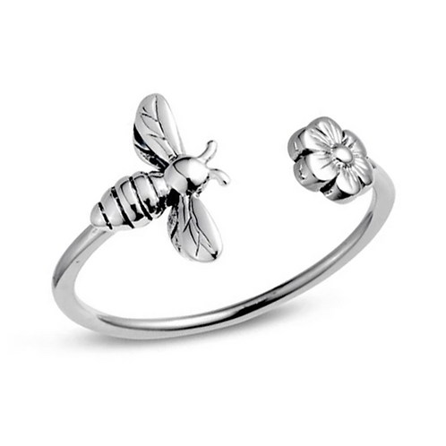 Meant To Bee Sterling Silver Ring