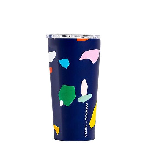 Corkcicle Poketo Tumbler 475ml - Confetti