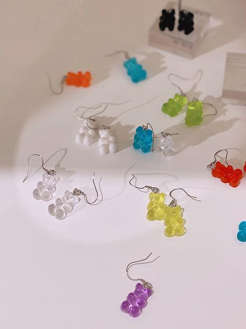 Gummy Bear 925 Silver Earring - MOOII