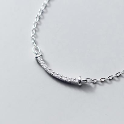 Smile Bar Necklace - MOOII