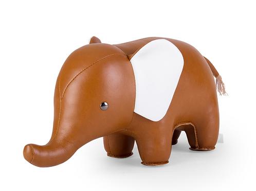 Zuny: Bookend Classic Elephant Tan