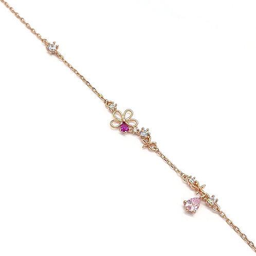 Five Petals Teardrop Bracelet - MOOII