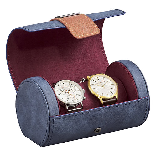 Ted's World Faux Leather Watch Roll