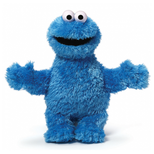 SESAME STREET SOFT TOY COOKIE MONSTER 25 CM