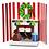Thumbnail: Moma 3d Holiday Cards (8pcs) - Holiday Hearth